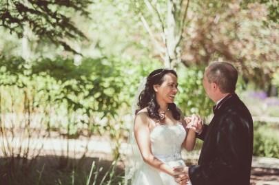Bramblett Wedding color laughing