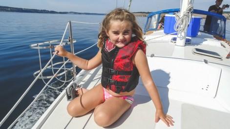 Sailing Puget Sound 36