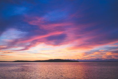 Sunset on Puget Sound 3