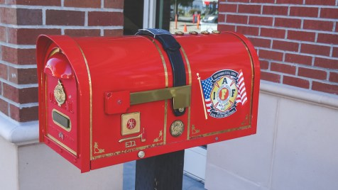 Mailbox at the Sausalito Fire Department