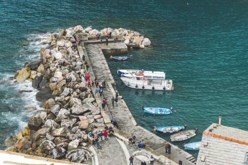 Vernazza wharf