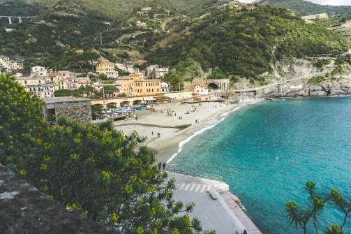 Monterosso view