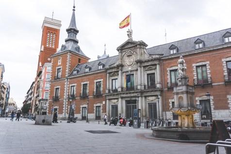 Palacio de Santa Cruz, Madrid