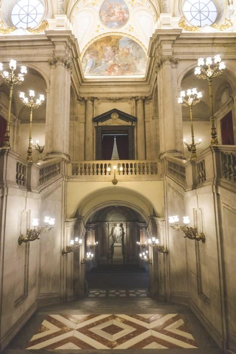 Inside the Palacio Real