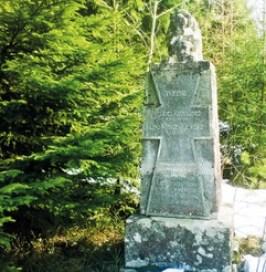 Sodan 1918 muistomerkki Kurhilassa, Asikkala.