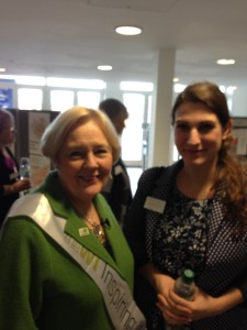 Hannah with Janice Langley, NFWI Chair