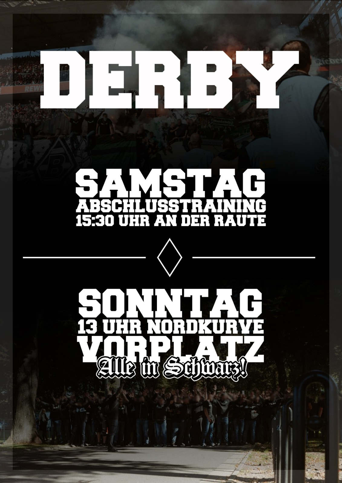Hinweise zum Derby