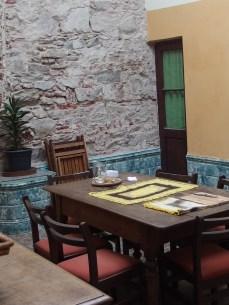 Casa di Claudia a Montevideo. Comedor
