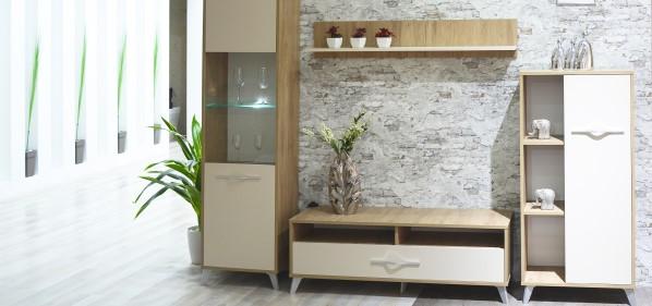 Bibiliothèque et meubles de séjour Sotufab