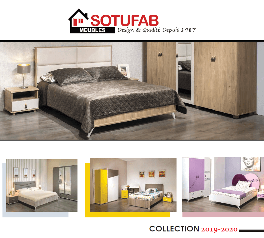 Catalogue Sotufab Meubles 2019-2020