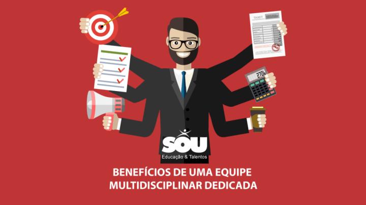 Benefícios de uma Equipe Dedicada Multidisciplinar