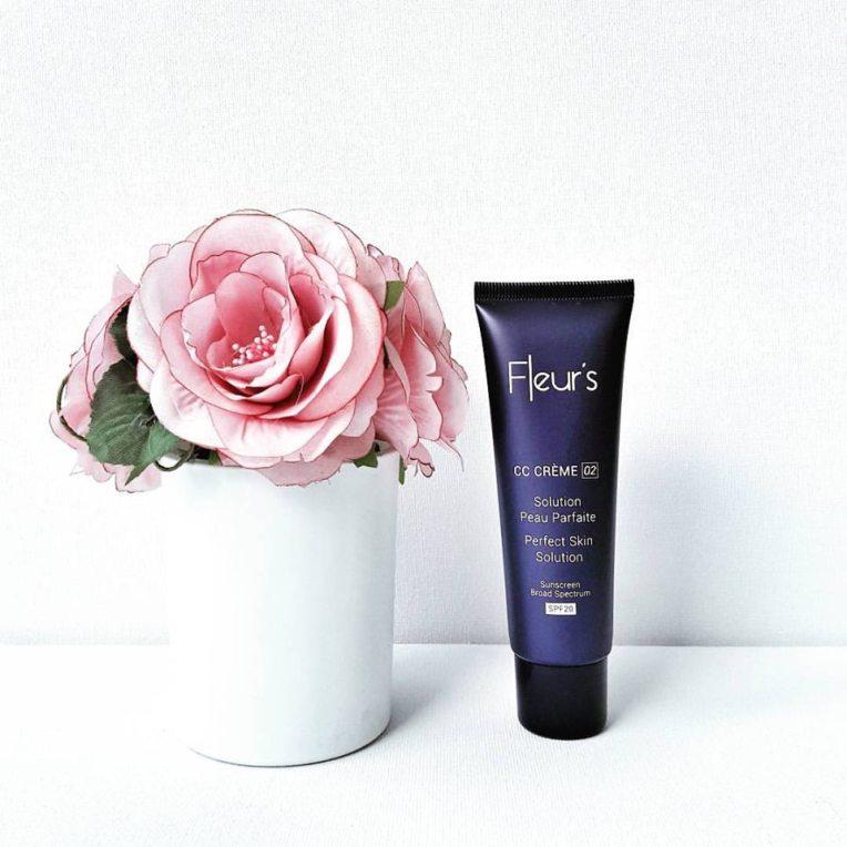 CC Crème Fleur's - 37,60€, Flacon 50ml - Existe en deux teintes 01 et 02 - www.fleur-s.com