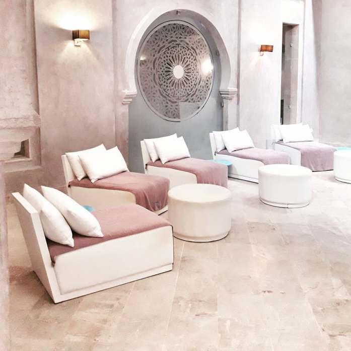 SEABEL SPA ALHAMBRA: Salle de Repos où calme et sérénité sont les maîtres mots