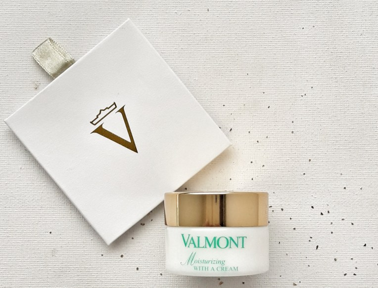 Moisturizing With a Cream - Valmont