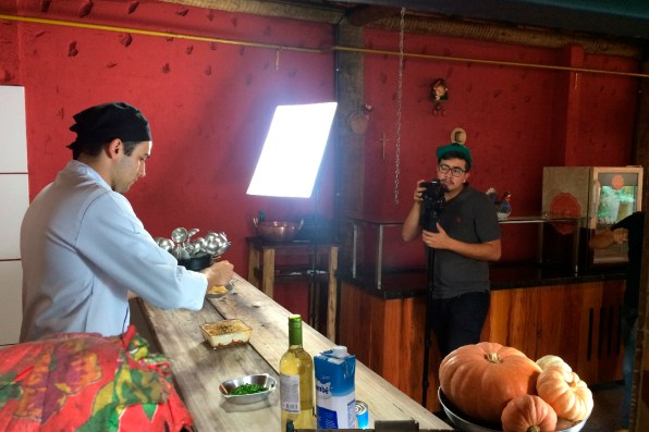 Participação do chef Leonardo Cabral no programa Decisão Atacarejo
