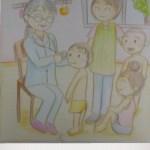 保育士二次試験絵画の予想問題。内科健診