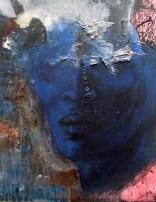 """Blue head"""