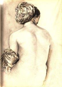 femme-au-turban-dessin