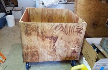 Homemade DIY Grain Bin Part 3