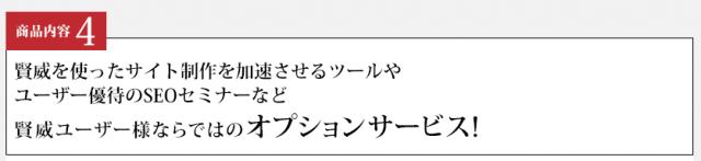 SEOテンプレート賢威オプションサービス