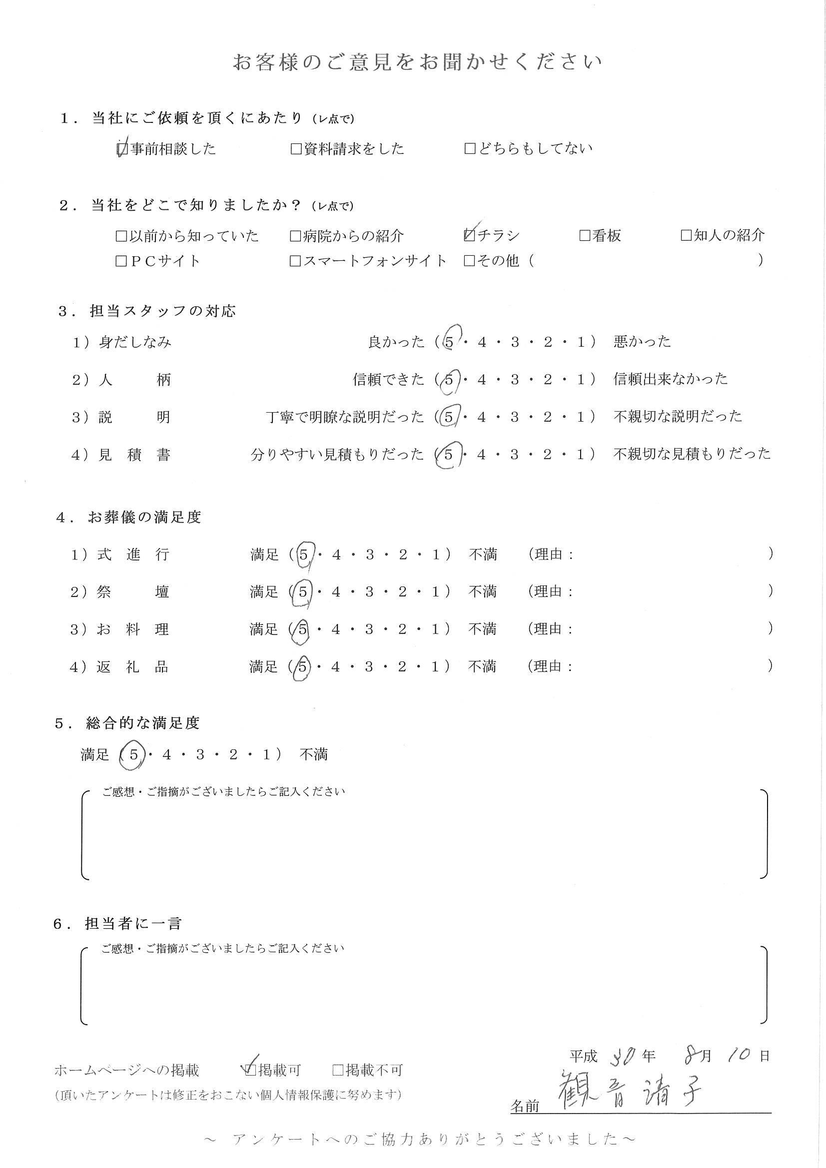 2018.08.10 狛江市 観音様