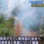 アマゾンの森林火災の状況