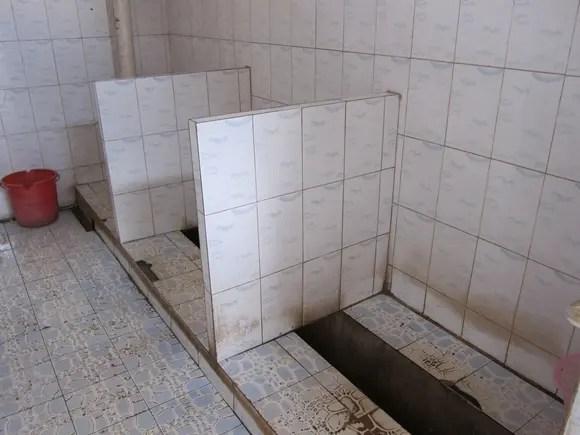 中国のトイレ事情
