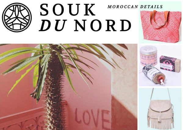 Postkarte Souk du Nord