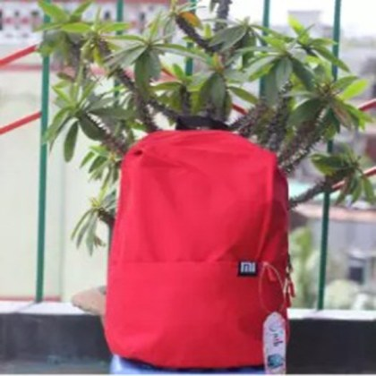 Mi Coloring Mini Backpack-Red