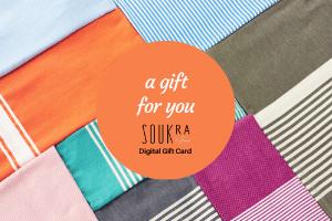 E-gift card for soukra