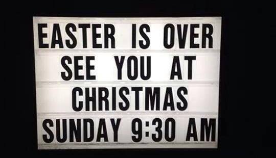 Image result for christmas easter only