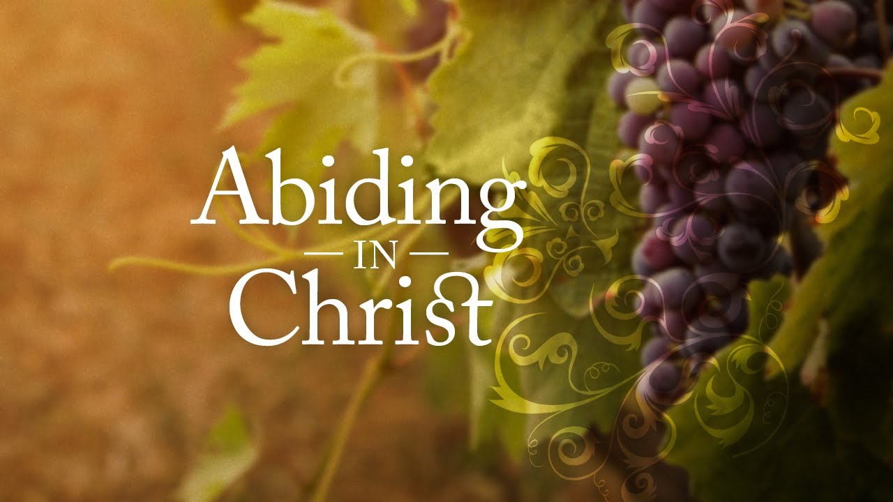 Image result for abiding in god