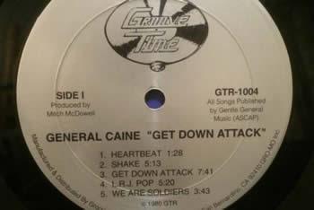 ウェッサイの重鎮ぶり  Shake/General Caine('80)