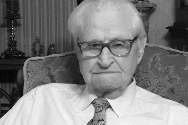 Wilhelm Wessler ist bewundernswert: Ein Hundertjähriger, der sich als 70 fühlt.