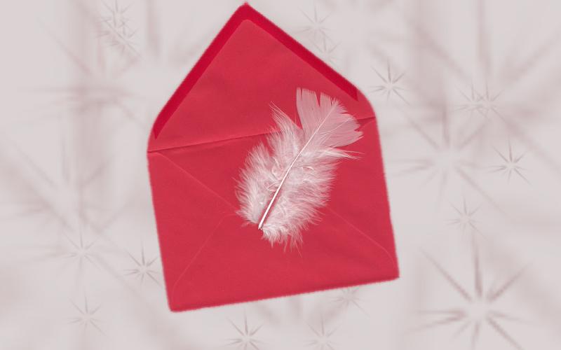 Ich habe einen Brief an meinen Engel geschrieben und eine Engelbotschaft empfangen