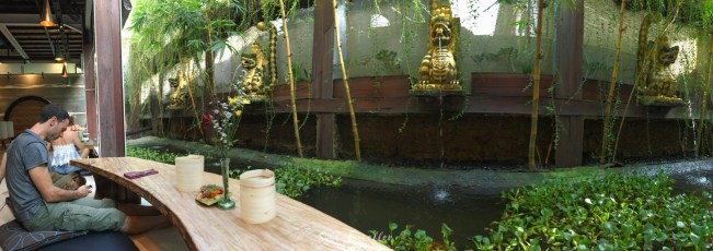 Thats the place to be in Ubud - Cafe Clear.