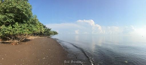 Einsamkeit abseits der balinesischen Tourirouten