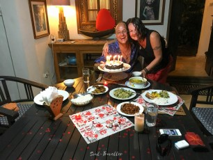 birthday cake - with 30 degrees in the evening
