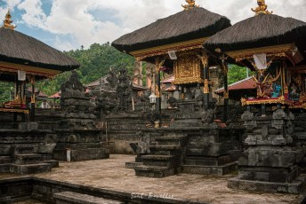 typical balinese tempel area - great spirit