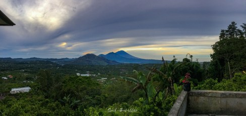 the volcanos at bali and lombok