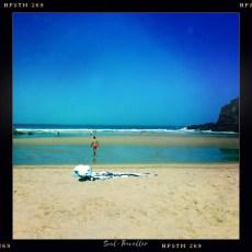 017 Praia da Carvalhal Malerische Wuchtigkeit