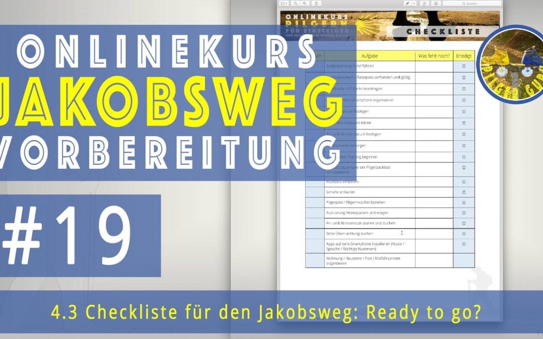Jakobsweg Vorbereitung: Checkliste vor der Abreise (und für zwischendurch)