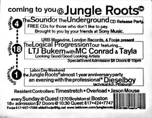 Bukem, Dieselboy, CD Release