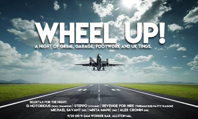 Wheel Up - September 20 @ Wonder Bar