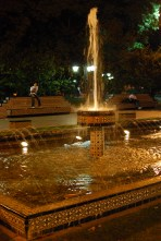 Plaza Espana is the most beautiful Plaza in Mendoza