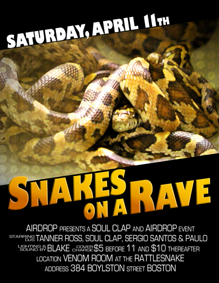 Snakes On A Rave