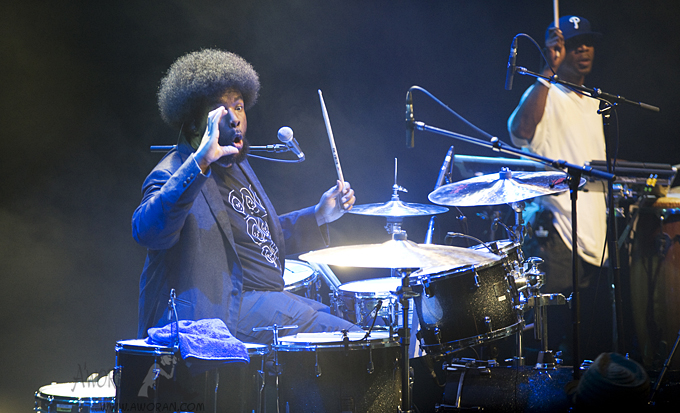 The Roots at the 2009 Meltdown festival