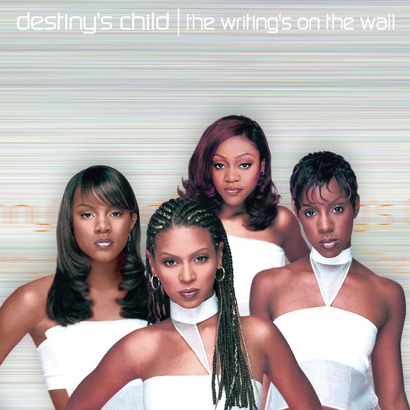 Destiny's Child 'The Writing's On The Wall' album cover