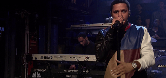 J Cole power trip jimmy fallon