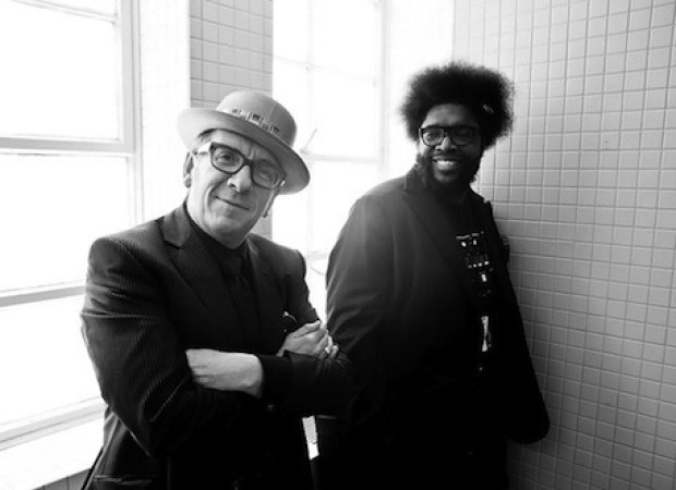 Elvis Costello & The Roots - Walk Us UPTOWN   New Music